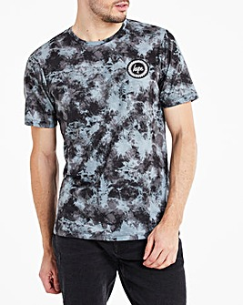 Hype Acid Wash T-Shirt Long