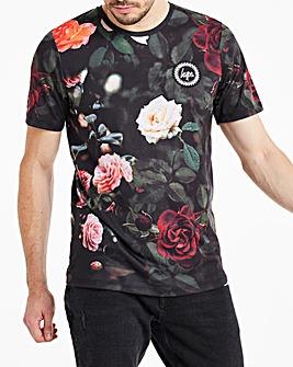 Hype Roses T-Shirt Long
