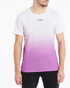 Hype Purple Fade T-Shirt Long