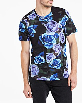 Hype Deep Roses T-Shirt