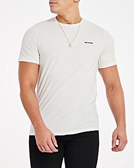 Religion No Changes Back Print T-Shirt