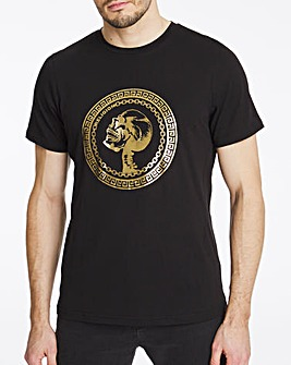 Religion Icarus Crest T-Shirt Long