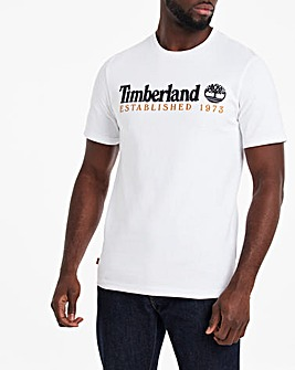Timberland Heritage Linear Logo T-Shirt