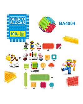 Faujas Farm 100pc Blocks, 5 Characters