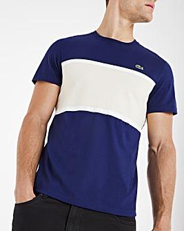Lacoste Short Sleeve Colourblock T-Shirt