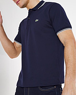 Lacoste Short Sleeve Block Polo