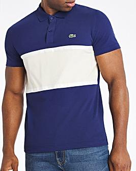 Lacoste Short Sleeve Colourblock Polo