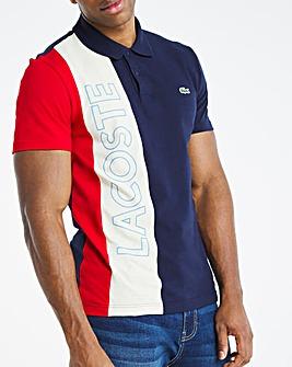 Lacoste Colourblock Logo Polo