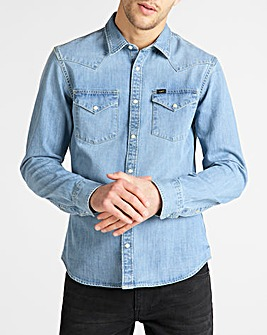 Lee Jeans Denim Western Shirt