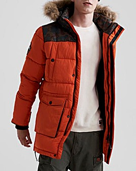 Superdry Ezplorer Faux Fur Hooded Parka