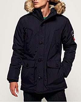 Superdry Faux Fur Hooded Everest Parka
