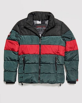 Superdry Colour Stripe Sports Puffer