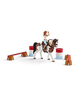 Schleich Horse Club Hannah's Riding Set