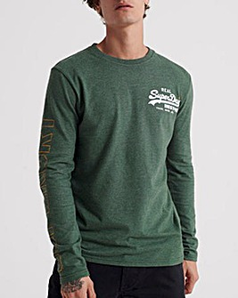 Superdry Vintage Long Sleeve T-Shirt