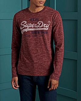 Superdry Premium Long Sleeve T-Shirt