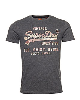 Superdry Vintage Short Sleeve T-Shirt