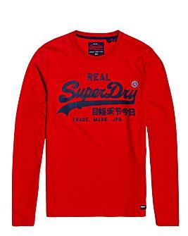 Superdry Vintage Long Sleeve T-Shirt