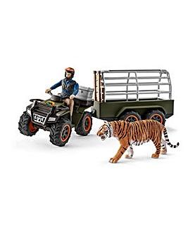 Schleich Wildlife Croco Quad Bike Set