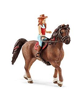 Schleich Horse Club Hannah & Cayenne Toy