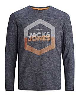 Jack & Jones Denim Long Sleeve T-Shirt