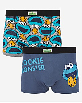 Cookie Monster 2 Pack Boxers