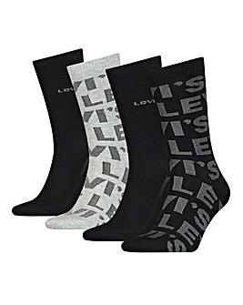 Levi's 4 Pack Gift Box Socks