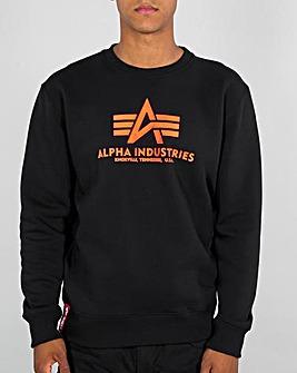 Alpha Industries Neon Print Sweatshirt