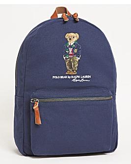 Polo Ralph Lauren Canvas Bear Backpack