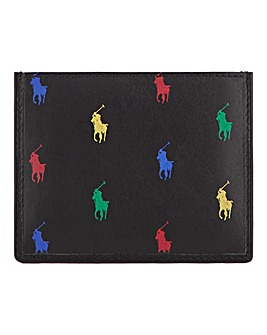 Polo Ralph Lauren Pony Card Holder - Black