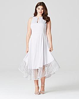 Coast Rach Rose Lace Dress