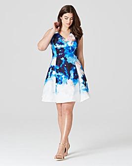 Coast Atrani Print Dress