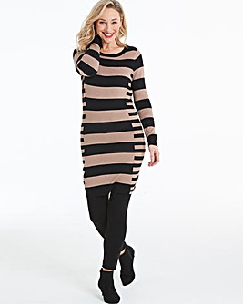 Illusion Stripe Tunic
