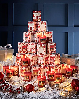 Yankee Candle 20 Christmas Votives Pack