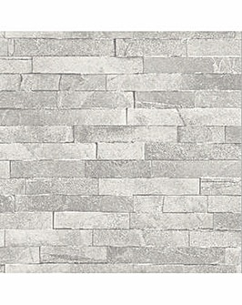 Arthouse Diamond Slate Wallpaper
