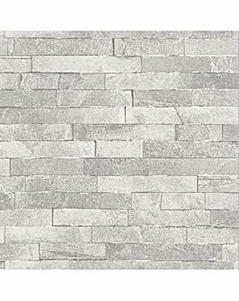 Arthouse Diamond Slate Wallpaper