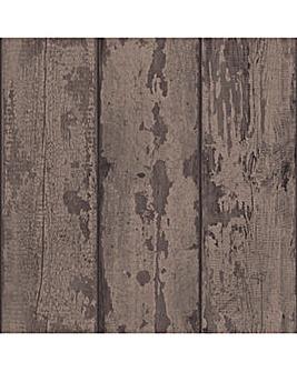 Arthouse Wood Plank Wallpaper