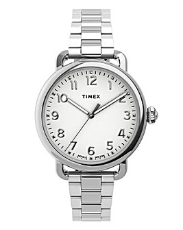 Timex Ladies Silver Tone Bracelet Watch
