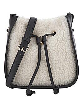 Teddy Fur Bucket Bag