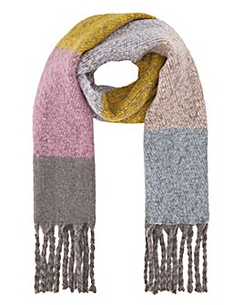 Colourblock Erica Multi Check Scarf