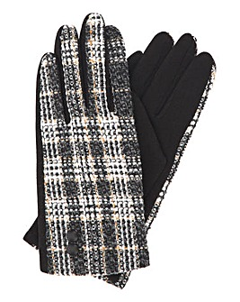 Checked Carrie Glove