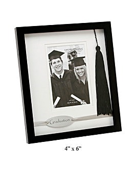 Graduation Black Wooden Photo Frame