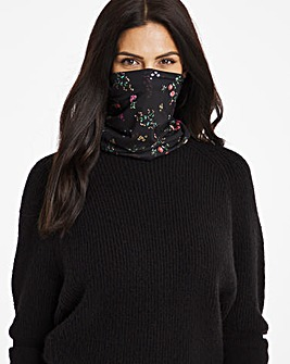 Ditsy Print Snood Face Covering