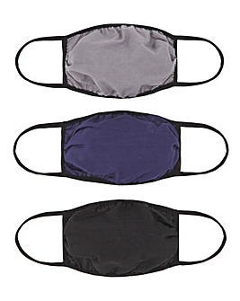 3 Pack Face Coverings Multi