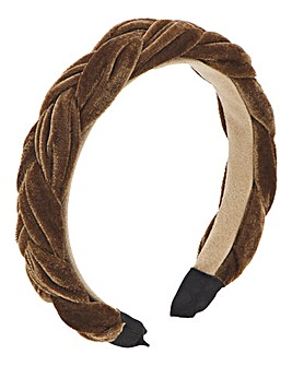 Bronze Padded Woven HeadBand
