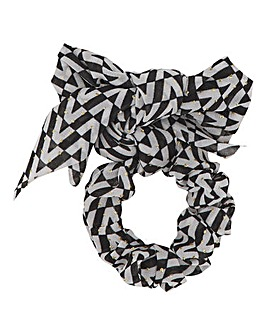 Black Bow Scrunchie