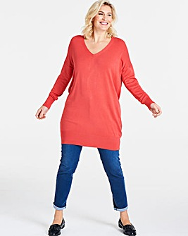 Coral Bar Back Tunic
