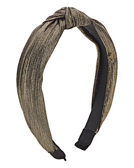 Gold Knotted Headband