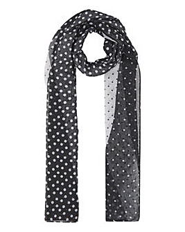 Recycled Mix & Match Polka Dot Scarf
