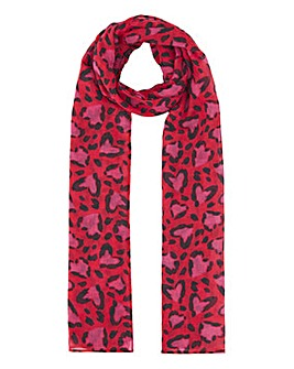 Recycled Wild At Heart Lightweight Scarf