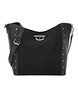 Joanna Hope Studded Shoulder Bag